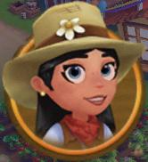 Character Marie circle