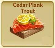 CedarPlankTrout