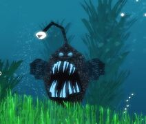 Anglerfish Attacking