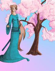 Princess Sakura Official Character Art
