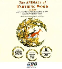 The Animals of Farthing Wood CD ROM box front