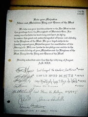 The Petition to reopen in 1996.