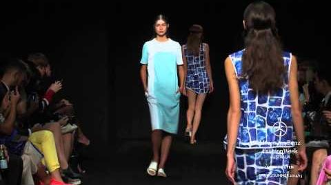 LEROY NGUYEN MERCEDES-BENZ FASHION WEEK AUSTRALIA SS 2014 2015