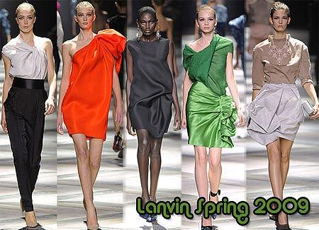 Designers Clothing | Image Designer Clothes Lanvin Spring Summer 2009 Jpeg Fashion