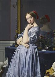 220px-Jean-Auguste-Dominique Ingres - Comtesse d'Haussonville - Google Art Project