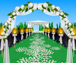 Event weddingAisle