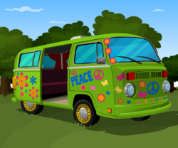 Event 70sFlowerVan