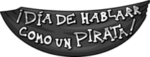 Día de hablarr como un pirata logo