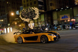 mazda rx7 fast and furious. tokyo japan mazda rx7 fast and furious u