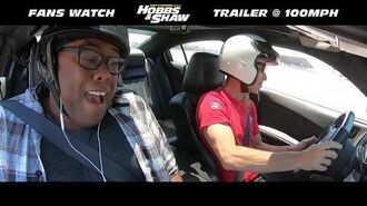 Fans Watch Hobbs & Shaw Trailer at 100 MPH