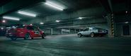 Sean drifting - EVO IX Car Park