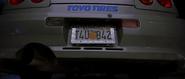 1999 Skyline License Plate