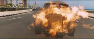 Burning Chevrolet Fleetmaster (Havana, Cuba - F8)