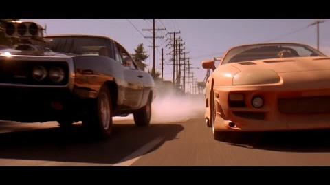 "Fast & Furious (2001) - Final drag race ""Limp Bizkit - Just like this"" Blu-ray, 4K"