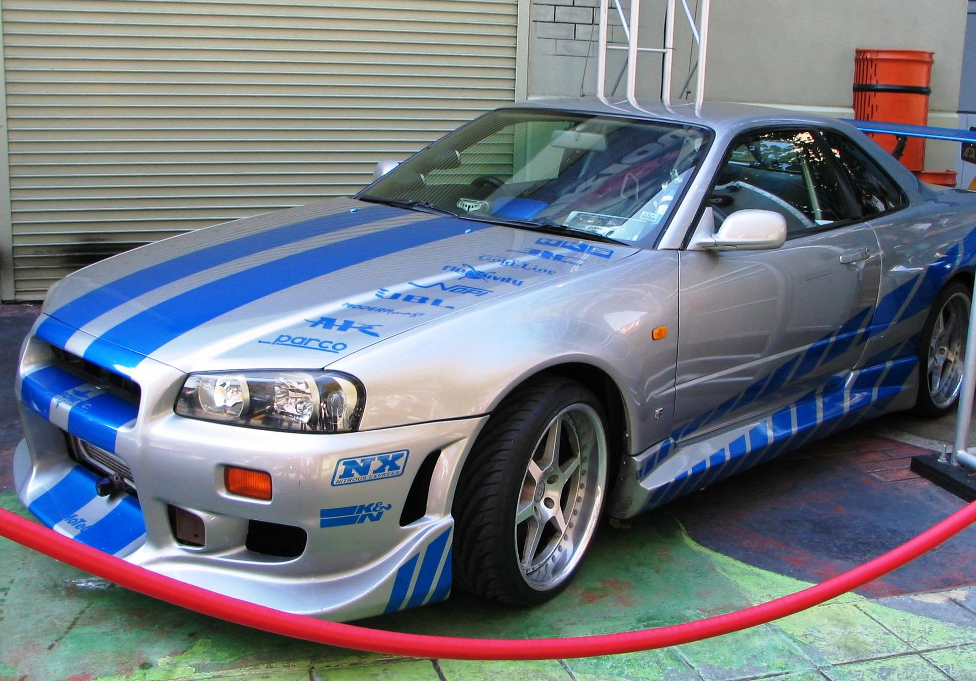 Image - Nissan Skyline GT-R R34 from 2F2F.jpg | The Fast and the ...