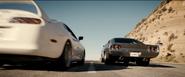 White MK IV Supra Furious 7