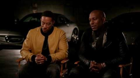 The Fate of the Furious Ludacris and Tyrese Gibson Exclusive Interview