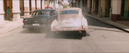 1956 Ford Fairlane & 1950 Chevrolet Fleetmaster (Havana Street Race - Rear View)