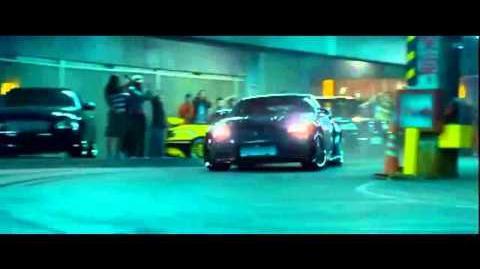 Tokyo Drift Nissan Silvia S15 vs Nissan 350z (Garage Scene)