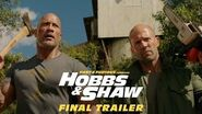 Fast & Furious Presents Hobbs & Shaw - In Theaters 8 2 (Final Trailer) HD