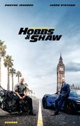 Hobbs & Shaw Poster