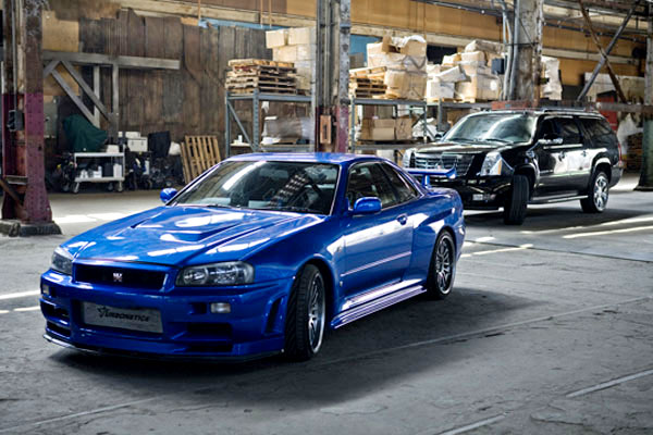 2002 Nissan Skyline Gt R R34 The Fast And The Furious Wiki