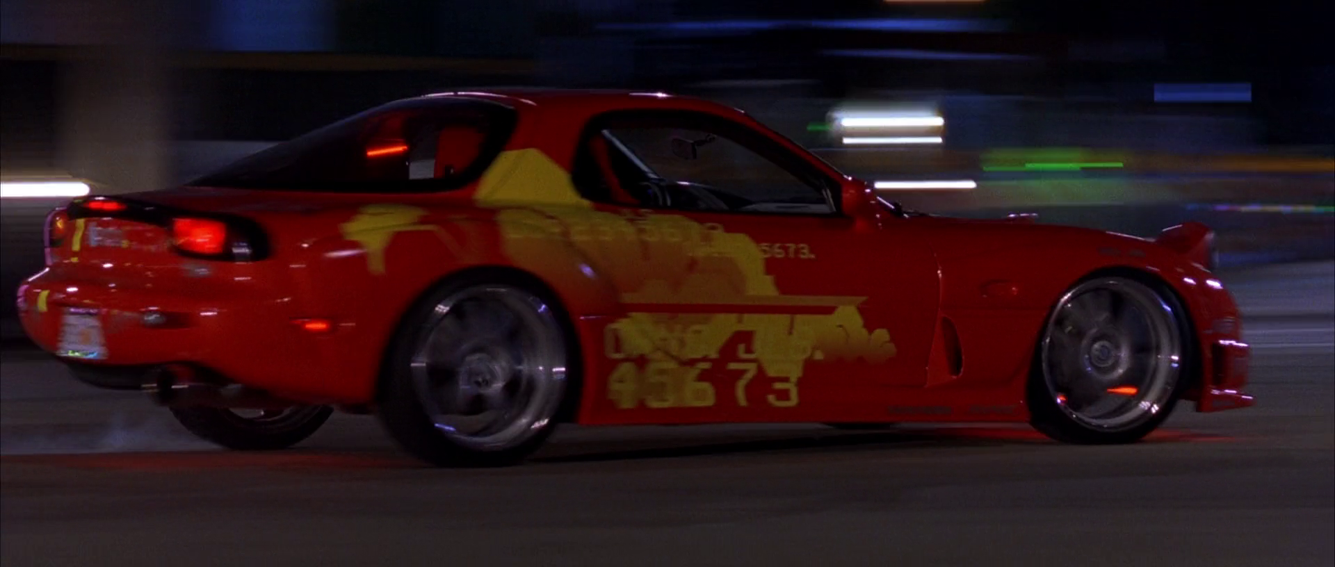 1993 Mazda RX-7 (Orange Julius) | The Fast and the Furious Wiki ...
