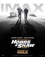 Hobbs & Shaw IMAX Poster