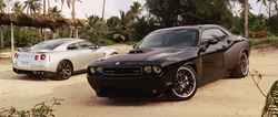 GT-R & Challenger - Fast Five
