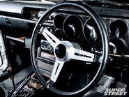 1971 Nissan Skyline GT-R Hakosuka - Fast Five Interior