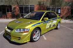 2002 mitsubishi lancer evolution vii | the fast and the furious