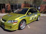 2002 Mitsubishi Lancer Evolution VII