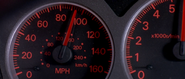 Lancer Evolution VII - Speedometer