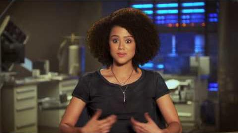 "The Fate of the Furious Nathalie Emmanuel ""Ramsey"" Behind the Scenes Movie Interview"