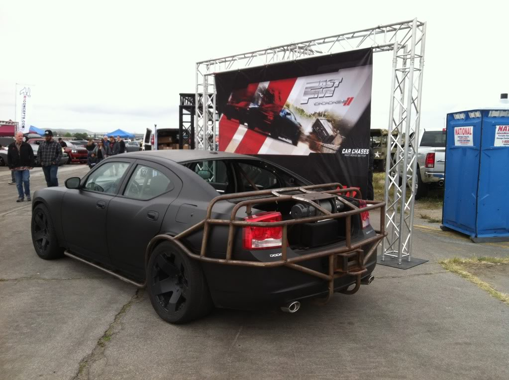 Image - Vault Heist Charger - Fast Five Promotional Event.jpg | The