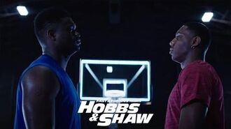 Hobbs & Shaw - In Theaters 8 2 (Zion Williamson & RJ Barrett – Teammates Becoming Rivals) HD