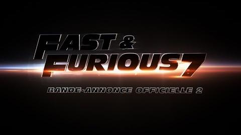 Fast & Furious 7 Bande-annonce officielle 2 VF Au cinéma le 1er avril