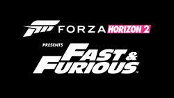 Forza Horizon 2 Fast & Furious Title