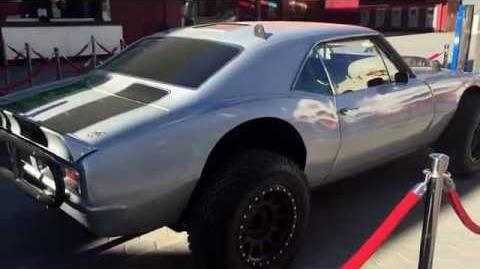 Fast & Furious Camaro Z28 movie car From Fast 7