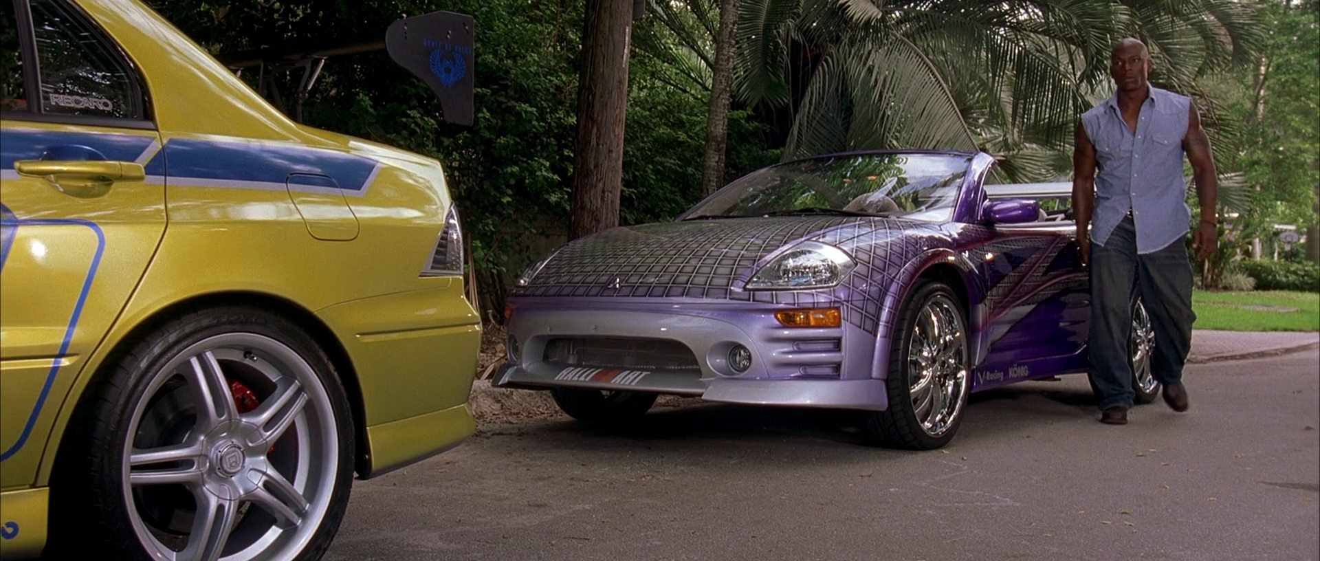 Mitsubishi spyder fast and furious