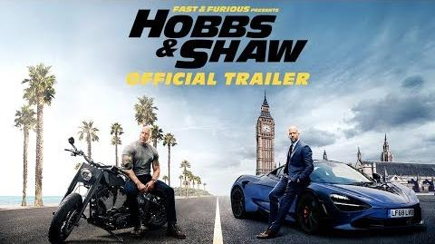 Fast & Furious Presents Hobbs & Shaw - Official Trailer HD