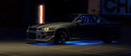 1999 Nissan Skyline - Side View