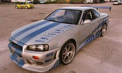 1999 Nissan Skyline Gt R R34 The Fast And The Furious