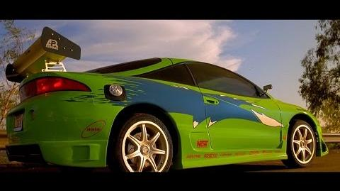 "Fast & Furious (2001) - Mitsubishi Eclipse scene ""Enter the Eclipse"" Blu-ray, 4K"