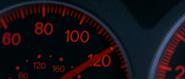 Brian's EVO VII - Speedometer
