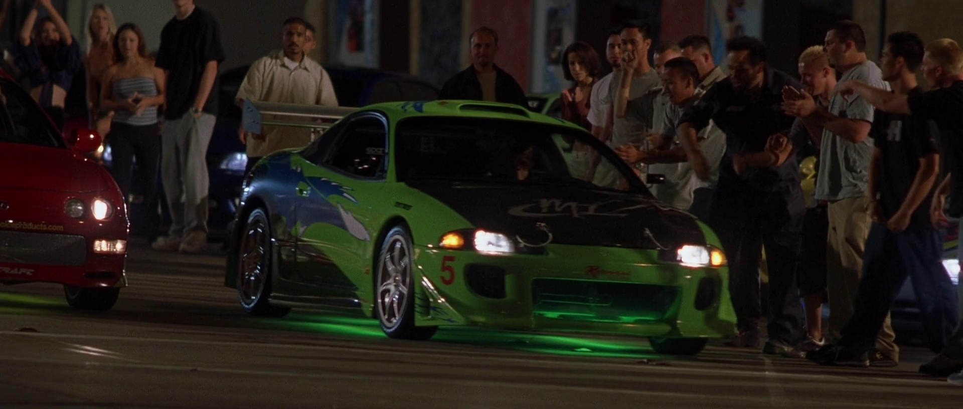 Image - Brian's Eclipse - Night Race.jpg | The Fast and the Furious ...