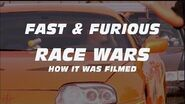RACE WARS HOW IT WAS FILMED