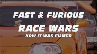 RACE WARS HOW IT WAS FILMED