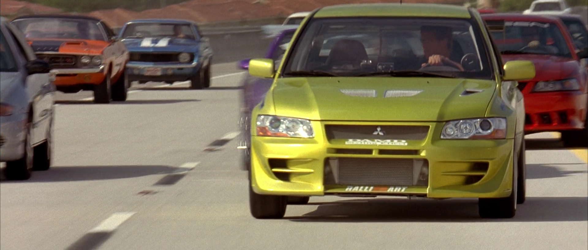 Image - Lancer Evo VII - Front View.png | The Fast and the Furious