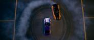 Aerial View - Han drifting (RX-7)